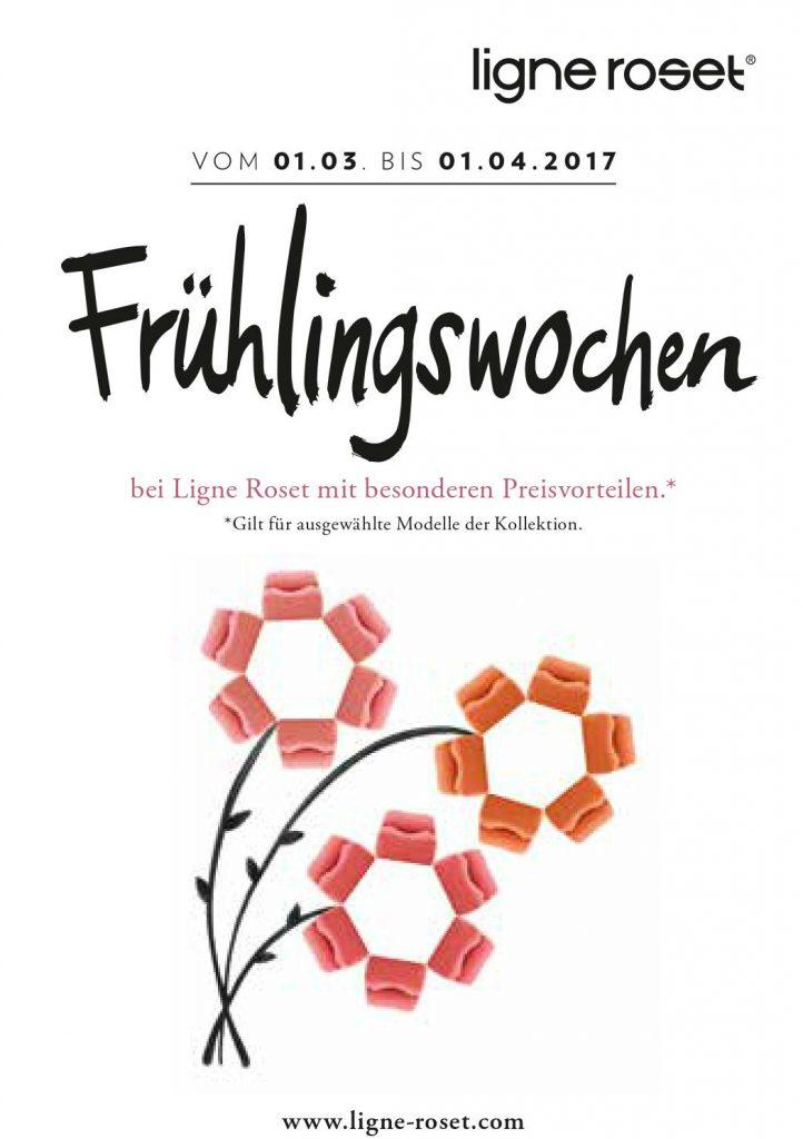 Frühlingswochen Ligne Roset Hamburg